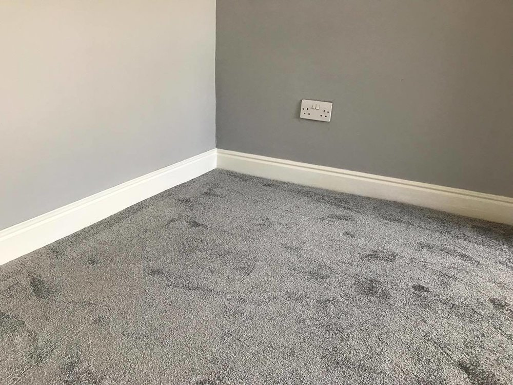 clean soft carpet