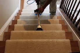 carpet step cleaning