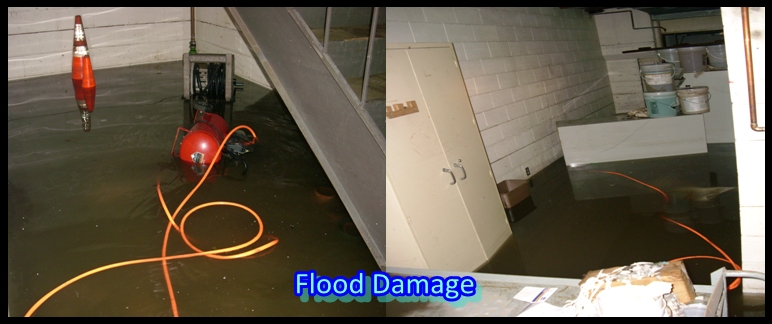 water flood damage