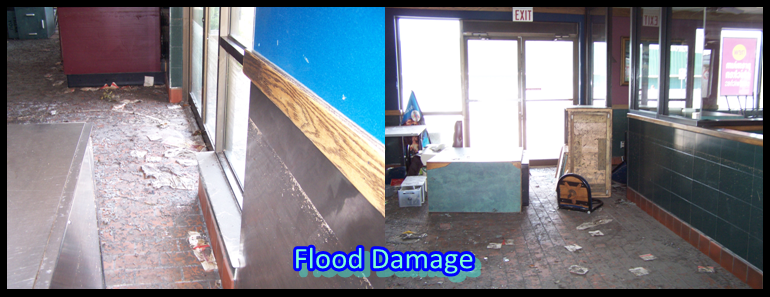 flood water damages