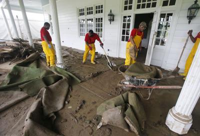 cleanup of flood water