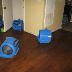 air movers drying
