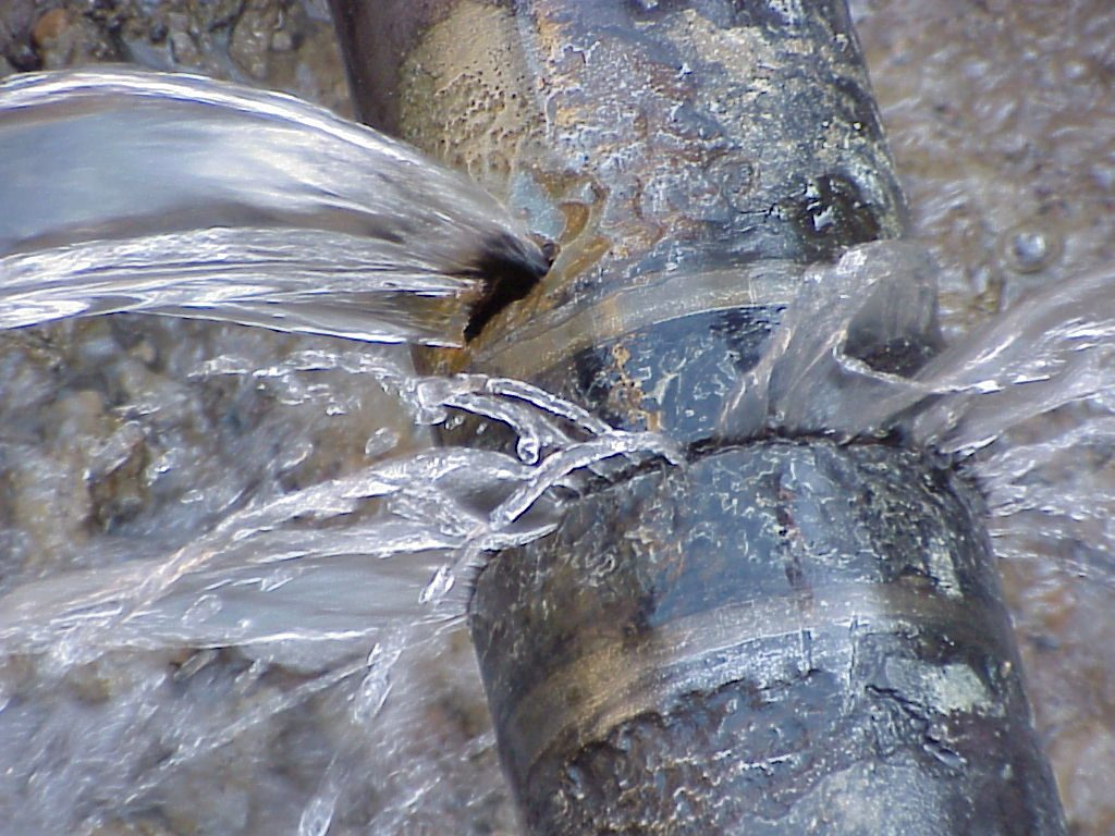 pipe burst