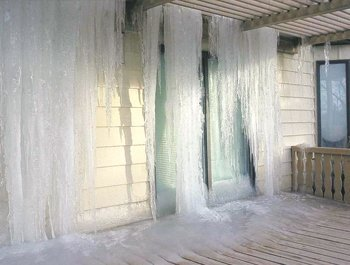 frozen pipe whole house flood